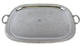 Image of a Rectangular Nickel Platter