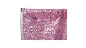 "Image of a 10' 54"" Duchess Sequins Pink  Backdrops"