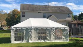 Image of a Side Walls for 40 x 80 Tent  (Fully Enclosed)