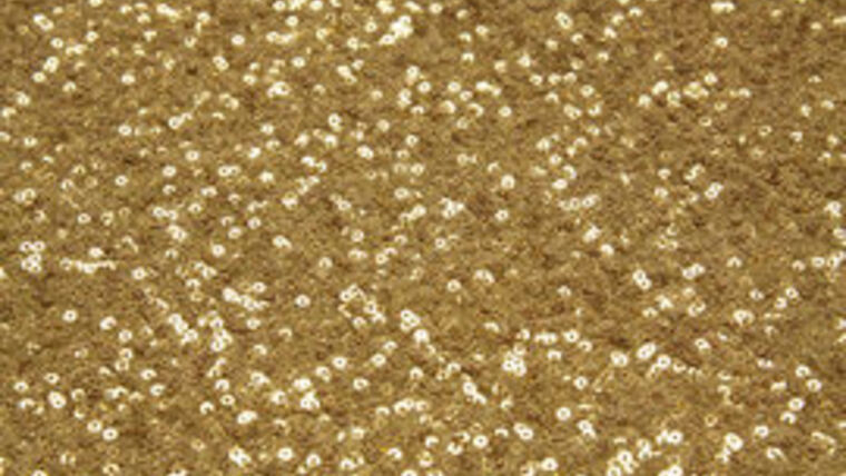 """Picture of a 10' 54"""" Duchess Sequins Antique Gold Backdrops Panel"""