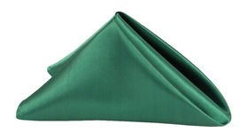 Image of a 20 x 20 Emerald Green Satin Napkin