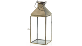 """Image of a 14"""" Gold Founders Lantern"""
