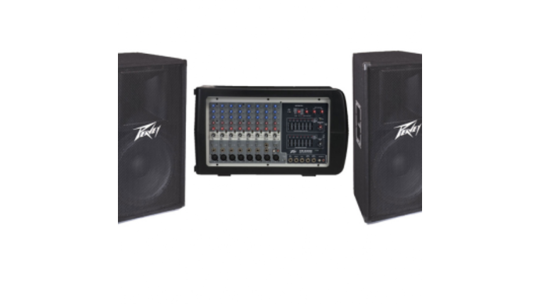 Picture of a Portable PA System  200watt