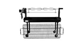 Image of a Grill Rotisserie Attachment