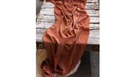 Image of a 30x240 Terracotta Table Runner