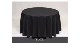 "Image of a 120"" Round Tablecloths"