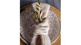 "Image of a 18"" x 18"" Cheesecloth Napkins"