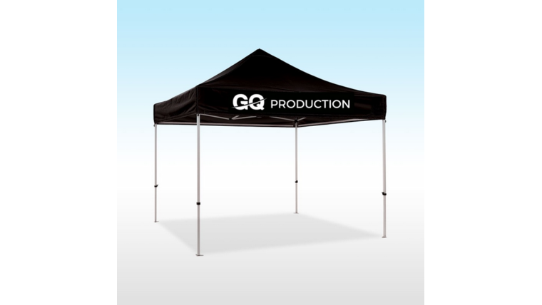 Picture of a 10 x 10 canopy tent