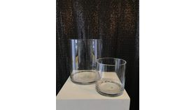 Image of a Decor - Round Wide Glass Vase - Large