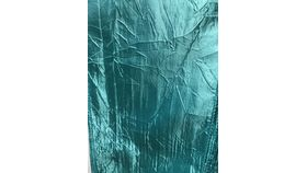 Image of a Chair Sash - Crushed = TURQUOISE