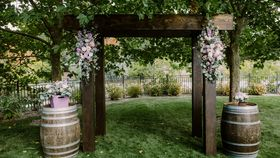 Image of a ARCH - Pergola - WOOD 4pcs