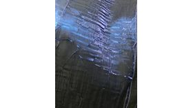 Image of a Chair Sash - Crushed = NAVY BLUE