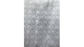 """Image of a Overlay 82 x 82"""" - Lace = WHITE"""