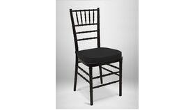 Image of a Black Chiavari chair