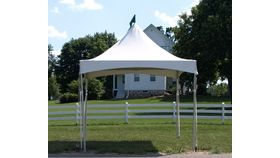 Image of a 10'x10' Tension Top Tent - With Sidewalls