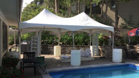Image of a 10'x20' Tension Top Tent - With Sidewalls