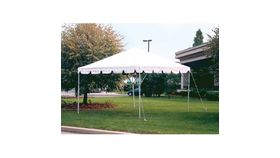 Image of a 10'x10' Frame Tent (C Grade) - With Sidewalls