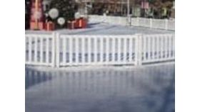 Image of a Crowd - White Picket Fence Panels