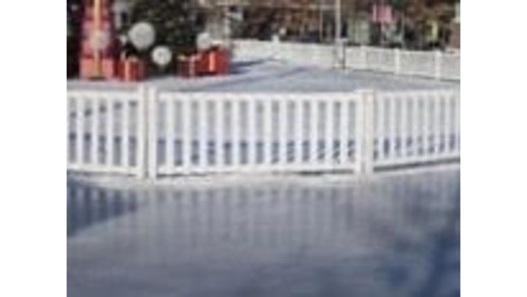 Picture of a Crowd - White Picket Fence Panels