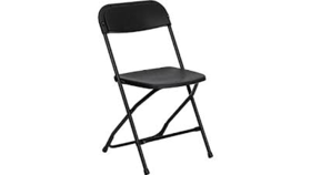 Image of a Chairs - Folding - Black