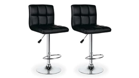 Image of a Chairs - Bar Stool - Chrome