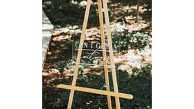Image of a Acrylic Ceremony Sign