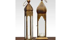 Image of a Bronze Moroccan Lanterns