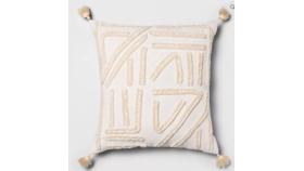 Image of a Oversized Boho Tassel Pillow
