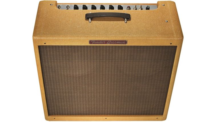 Picture of a Fender 59' Bassman 4x10 Combo Amplifier