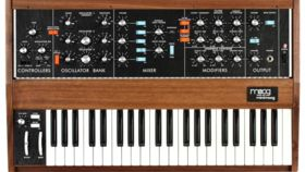 Image of a Moog Model-D 44-key Analog Monosynth