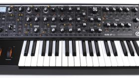 Image of a Moog Subsequent 37 Analog Synthesizer