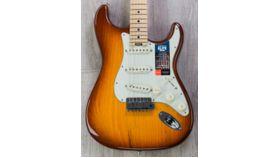Image of a Fender American Elite Stratocaster - Tobacco Sunburst