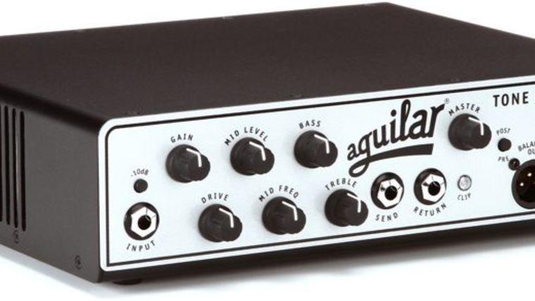 Picture of a Aguilar Tone Hammer 500 Superlight 500 Watt Bass Head