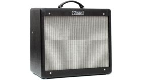 "Image of a Fender Blues Junior 15-watt 1x12"" Tube Combo Amp"
