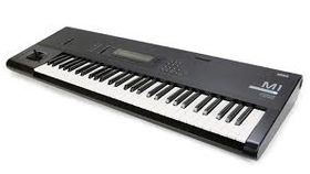 Image of a Korg M! Synthesizer
