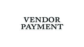 Image of a 4300:  Vendor Payment
