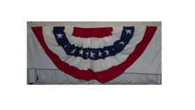 Image of a 6' Wide Bunting With Stars