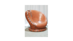 Image of a Base Ball Glove Chair
