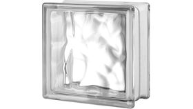 """Image of a 8"""" x 8"""" Glass Block Tile Squares (Some Plastic)"""