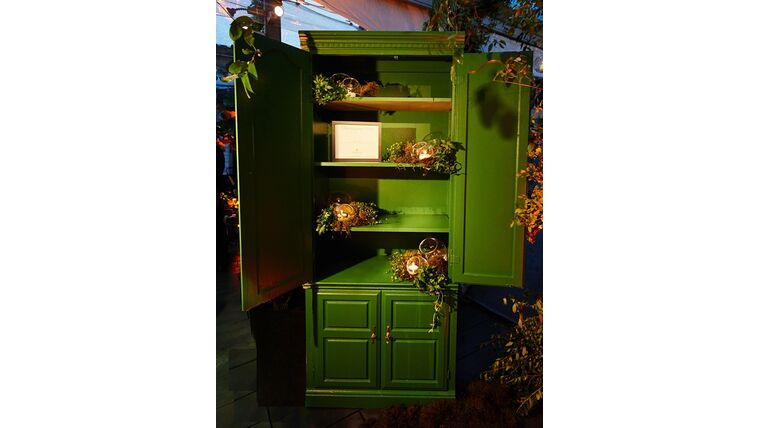 Picture of a Double Door Cabinet
