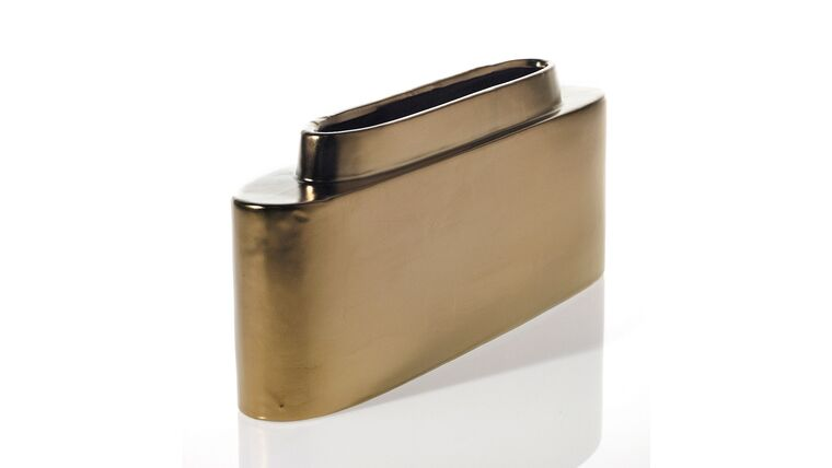 """Picture of a AD Sleek 4"""" X 9.5"""" Gold"""