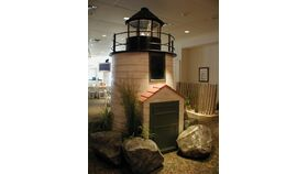 Image of a Oversized Lighthouse Prop