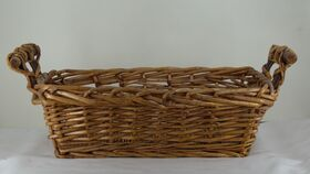 Image of a Handled Tray Basket