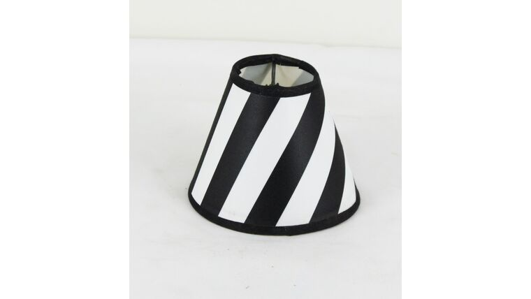 Picture of a Black and White Stripe Shade