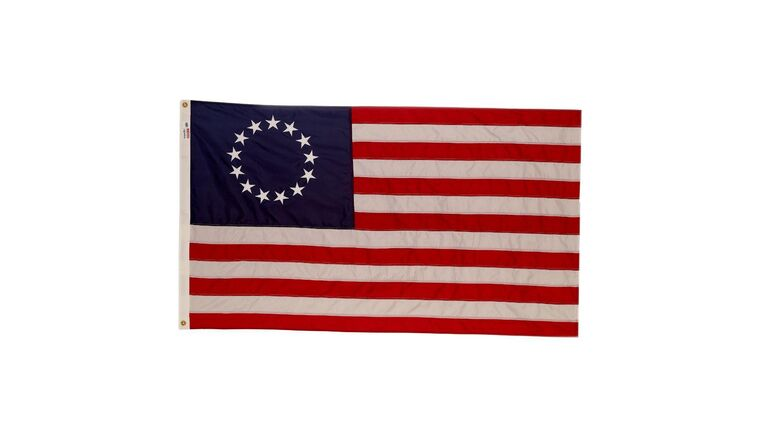 Picture of a 13 Star United States Flag