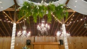 Image of a 3 Crystal Chandelier