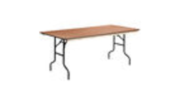 Picture of a 6ft Folding Tables