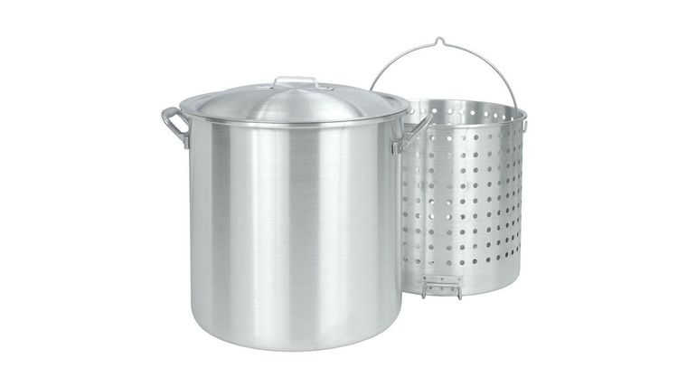 Picture of a 80 Qt pot with straner