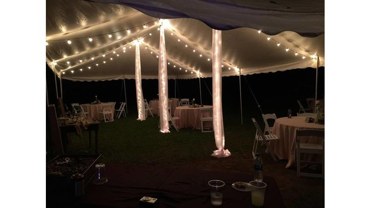 Picture of a 20x40 Tent Light Package