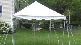 Image of a 10x10 Pole Tent
